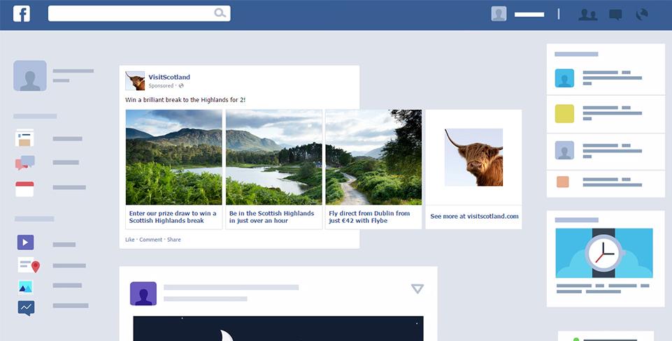 שיווק בפייסבוק Multi Product Ads